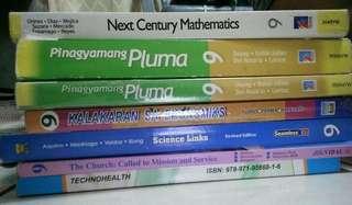 Grade 9 K-12 Books!! ALMOST NEW! walang mga sulat