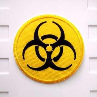Bio Hazard Logo Iron On Patch