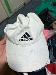 Addidas white cap