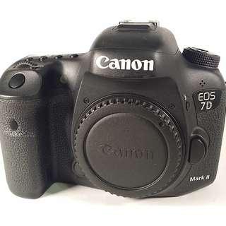 Canon EOS 7D2 盒裝 說明書 背帶 充電器 原電池1 公 (CB061)