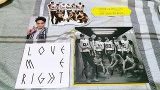 EXO love me right專輯韓文版