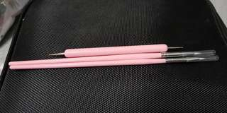 3×Nail Art Brush