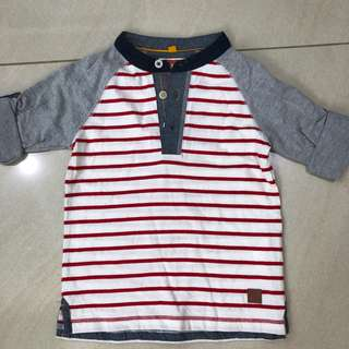 Poney Stripe Top