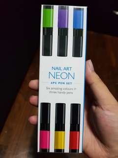 [CLEARANCE] Nail polish set with drawing tip