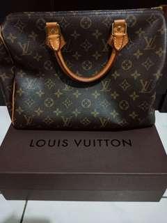 Authentic Louis Vuitton Speedy 30 Monogram Canvas 2012