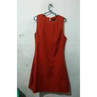 Zalora Burnt Orange Dress
