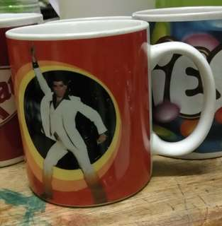Saturday Night Fever movie mug