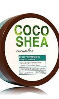 Bath & Body Works Cocoshea body lotion