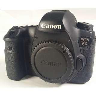 Canon EOS 6D 全幅機 盒裝 背帶 充電器 光碟 說明書 原電*1 公 (CB064)