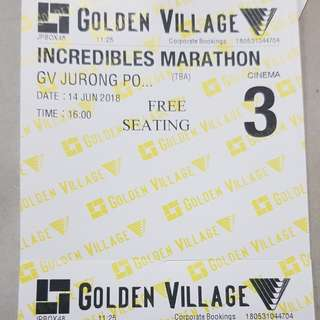 Incredibles Marathon Movies