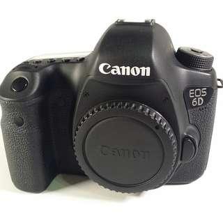 Canon EOS 6D 全幅機 盒裝 背帶 充電器 光碟 說明書 原電*1 公 (CB065)