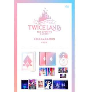 [PREORDER] TWICE (트와이스) - [DVD] TWICE 1ST TOUR TWICELAND - THE OPENING [ENCORE]