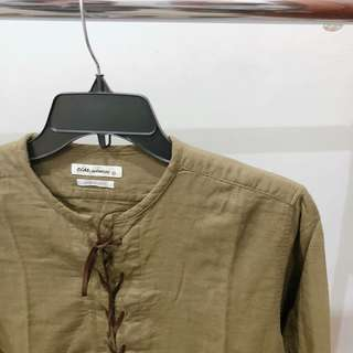 Green Army Blouse