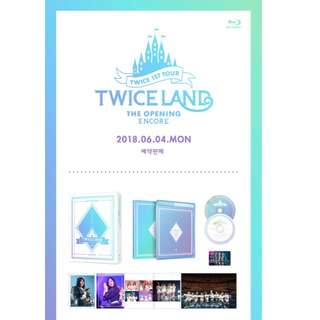 [PREORDER] TWICE (트와이스) - [BLU-RAY] TWICE 1ST TOUR TWICELAND - THE OPENING [ENCORE]