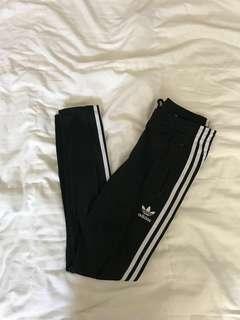 Adidas Three Stripe track pants