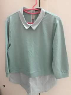 Nice top mint colour ( with tag)