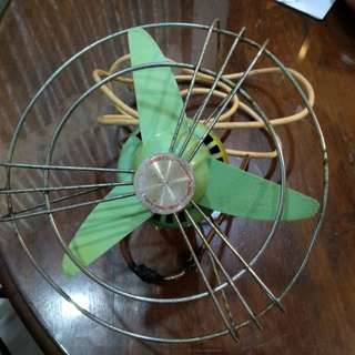 Vintage small Demc table fan