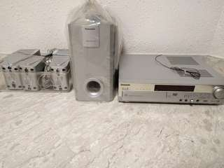 Panasonic DVD Home Theatre system (SA-HT75)