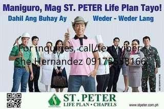 St. Peter Life Plan Part Time Sales Agent Paranaque Area