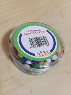 Map pins from Japan