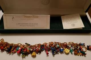 The Ultimate Disney Classic 37-Character Charm Bracelet
