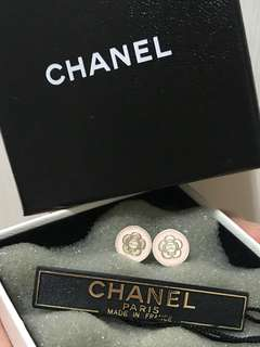 Chanel Camellia Earrings 山茶花耳環