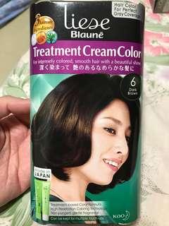 Liese Blaune Treatment Cream Colour Dark Brown