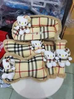 SET MOBIL 3IN1 HELLO KITTY BURBERRY
