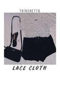 Trinchetto Lace top