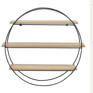 Geometric Display Shelves