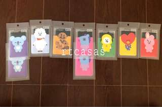 BT21 Monopoly Clear Card Pocket