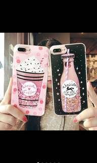 Liquid Glitter Quicksand Iphone case