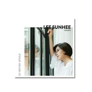 LEE SUNHEE REMAKING ALBUM LE DERNIER AMOUR
