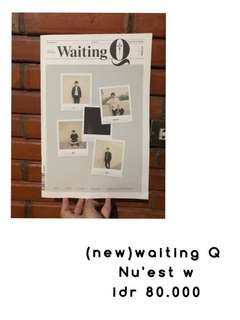 (New) Nu'est waiting Q photo magazine