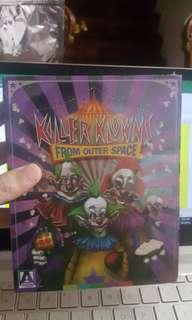 KILLER KLOWNS FROM OUTER SPACE BLU RAY ARROW LIMITED ED