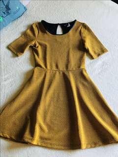 H&M Mustard Dress