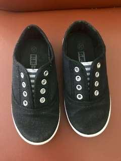 Black Canvass Shoes