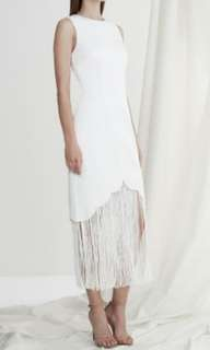 Keepsake 'The Other Side' dress in Ivory szM BNWT.