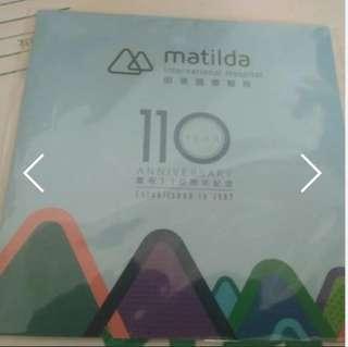 八達通 明德國際醫院110周年 限量版八達通 八達通咭 Matilda