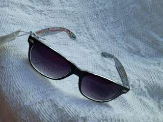 Aeropostale Map Wayfarer Sunglasses