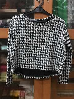Houndstooth Top Stradivarius