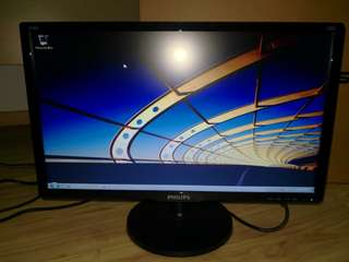 "Philips 21"" LCD Monitor"