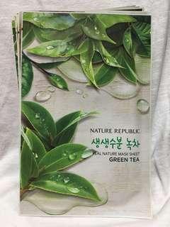 Nature Republic Sheet Mask Green Tea