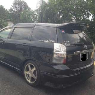Toyota Wish 1.8(A) 2004/2007