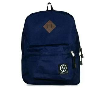 Hybreed Genesis Backpack Navy Blue with Lifetime Service Warranty