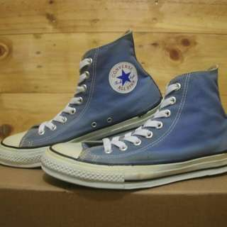 Vintage 80s / 90s converse high first release in asia Deadstock