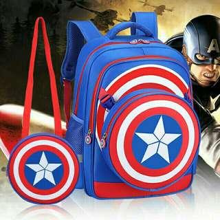 Captain America Bagpack 2 in 1