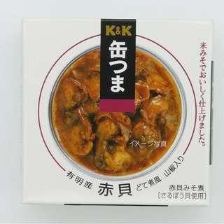 日本即食 赤貝山椒味噌