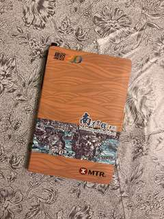 New MTR note pad w/pen