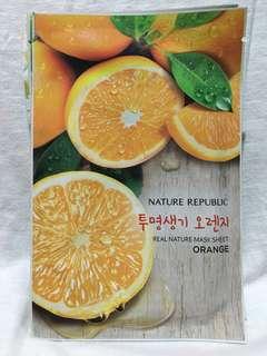 Nature Republic Sheet Mask Orange